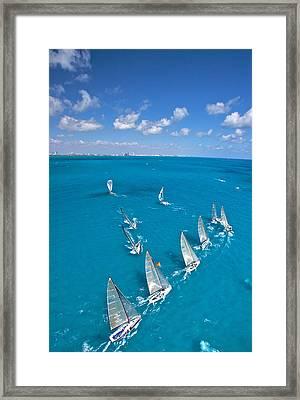 Miami Horizon Framed Print by Steven Lapkin