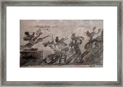 Auditions For Sympony Framed Print by Joseph Hawkins