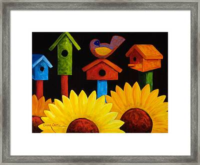 Midnight Garden Framed Print