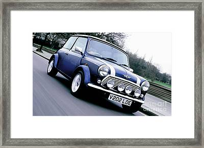 Mini Cooper Framed Print by Marvin Blaine