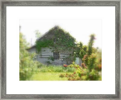Missing You Framed Print by Diannah Lynch