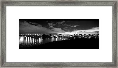 Mission Bay Framed Print