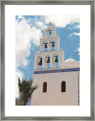 Mission Bells Framed Print by Phyllis Taylor