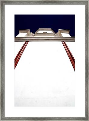 Mission San Xevier Del Bac Framed Print by Joe Kozlowski