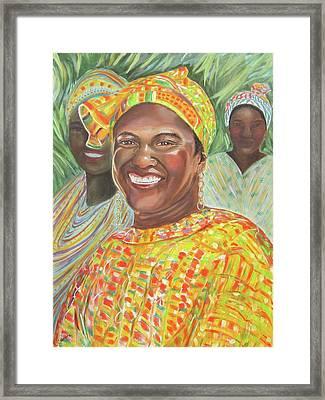 Mlady Goombay Framed Print