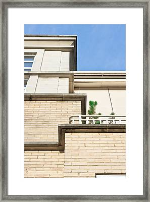 Modern Apartments Framed Print by Tom Gowanlock