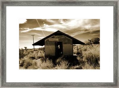 Mojave Desert Framed Print