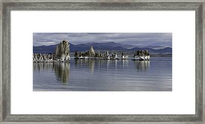 Framed Print featuring the photograph Mono Lake by Betty Depee