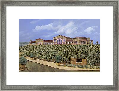 monte de Oro Framed Print by Guido Borelli