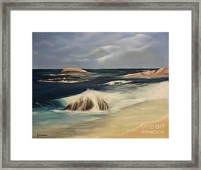 Monterey Coast Framed Print