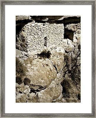 Montezumas Well Framed Print by Gregory Dyer