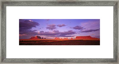 Monument Valley, Arizona, Usa Framed Print by Panoramic Images