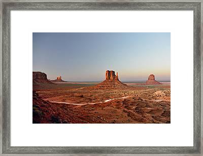 Monument Valley Framed Print by Christine Till