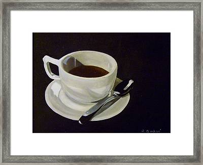 Morning Joe Framed Print