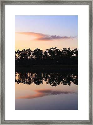 Morning Reflections Framed Print by Jonathan Gewirtz