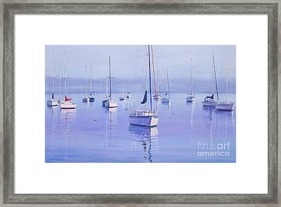 Morning Reflections Framed Print by Karol Wyckoff