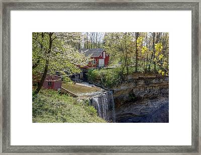 Morning Star Mill Framed Print by Art Tilley
