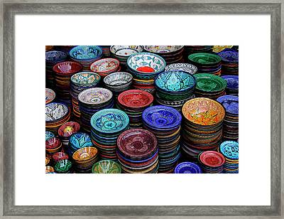 Morocco, Marrakech Framed Print by Kymri Wilt