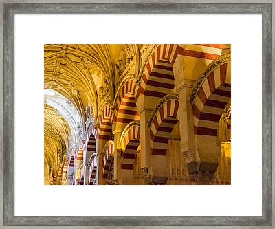 Mosque Cathedral Of Cordoba  Framed Print by Andrea Mazzocchetti