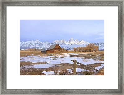 Moulton Barn Framed Print