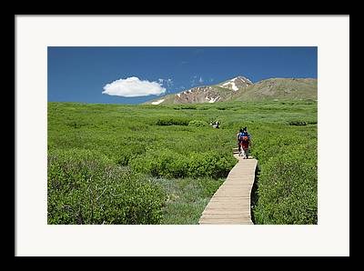 Guanella Pass Framed Prints