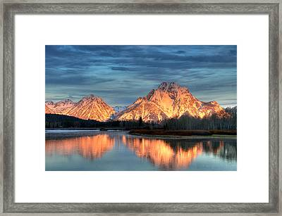 Mount Moran Framed Print