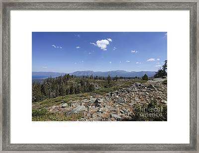 Mount Tallac Trailhead  Framed Print by Gal Eitan