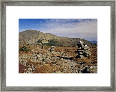 Mount Washington - White Mountains New Hampshire Framed Print