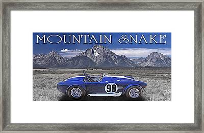 Mountain Snake Framed Print