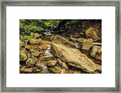 Mountain Stream Framed Print by Jaroslaw Grudzinski