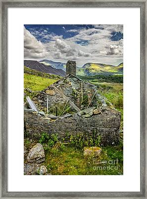 Mountain View Framed Print by Adrian Evans