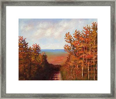 Mountain View Framed Print by Jason Williamson