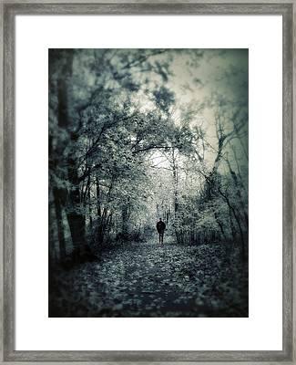 Mournful Journey Framed Print by Jessica Jenney