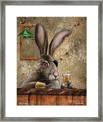 Mr Lucky Framed Print