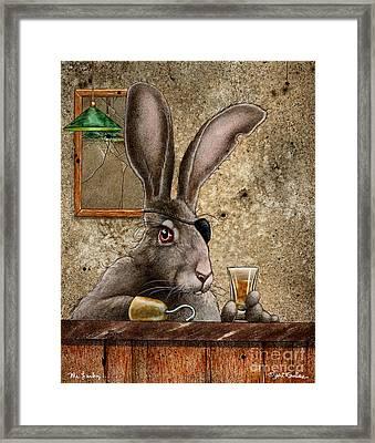 Mr Lucky Framed Print by Will Bullas