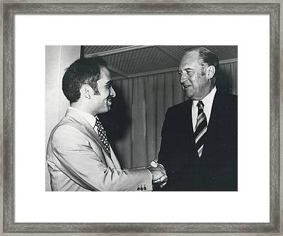Mr. Rogers In Jordan Framed Print by Retro Images Archive