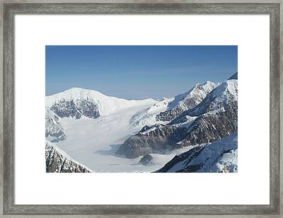 Mt Mckinley Framed Print by Dick Willis
