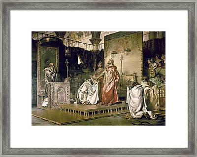 Mu�oz I Degrain, Antoni 1841-1924 Framed Print by Everett