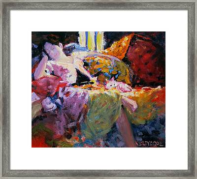 Muse Framed Print by Kevin Lawrence Leveque