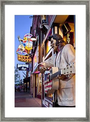 Music City Usa Framed Print