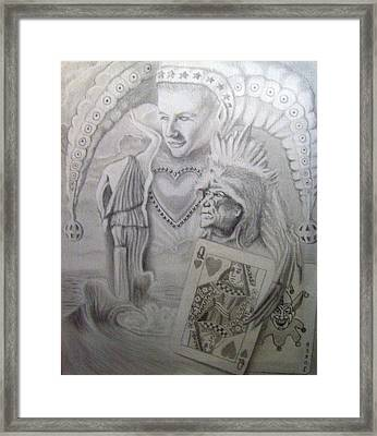 My Foolish Heart Framed Print