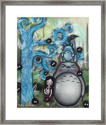 My Friend Framed Print by Abril Andrade Griffith