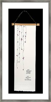My Religion Framed Print by Gayle Waddle-Wilkes