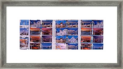 Mykonos, Greece Framed Print by Panoramic Images