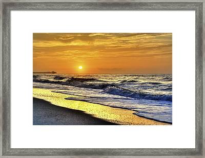 Myrtle Beach South Carolina Sunrise Framed Print