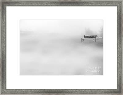 Mystic Bench Framed Print