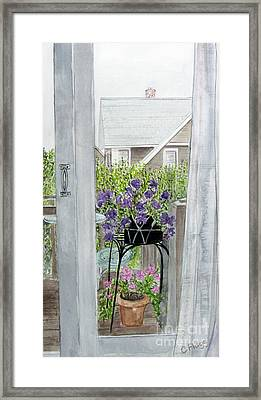 Nantucket Room View Framed Print