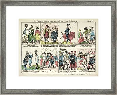 Napoleon Bonaparte Framed Print by British Library