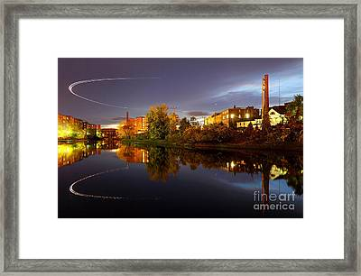 Nashua New Hampshire Framed Print by Denis Tangney Jr
