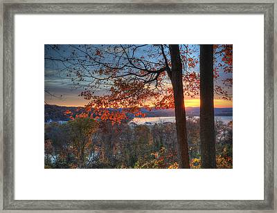 Nathan's View Framed Print